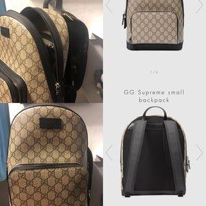 Handbags - GG Supreme Small Backpack
